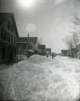 Stereoview of Main Street, Springvale, 1888