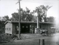 S. R. Day's Blacksmith Shop, Springvale, ca. 1905