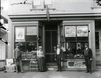 F. O. Goodwin, Main Street, Springvale, 1892