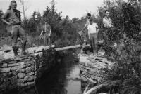 CCC workers, Sieur de Monts Springs, 1934