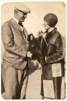 Harry Jones and Frances Grayson, Old Orchard Beach, 1927