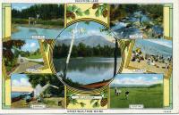 Postcard advertising Maine