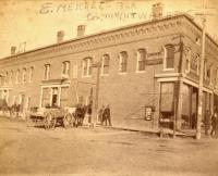 Merret's Block, Houlton, ca. 1885