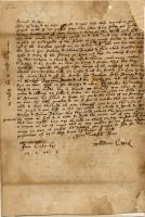 Thaddeus Clark letter on King Philip's War, 1676