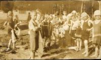 Children's health camp, ca. 1925