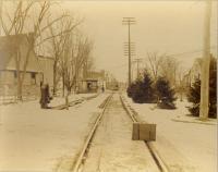 Street railroad, Forest Avenue, Portland, 1904