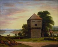 Fort Halifax, Winslow, 1864