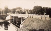 New Bridge, Island Falls, ca. 1929