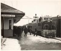 Tractor delivery, Presque Isle, ca. 1950