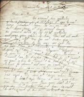 J. M. Dillingham letter to mother, October 1861