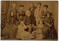 Henry Wadsworth Longfellow and family, Italy, 1869