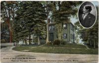Home of Lillian Stevens, Portland, ca. 1900