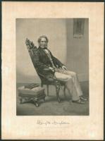 Longfellow engraving, ca. 1863
