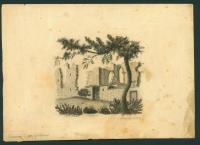 Drawing of St. Albans, England, 1822
