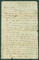 Peleg Wadsworth letter to son, 1796