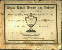 Sacred dirge in memory of Washington, 1800
