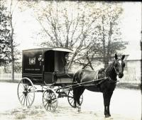 Booklovers Library wagon, Portland, ca. 1902