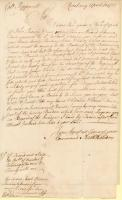 Letter concerning troops for Louisburg campaign, 1755