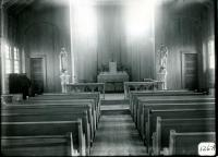 Interior of St. Brendan's Church, Biddeford, 1916