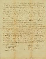 Contract for Aaron Putnam's mills, Houlton, 1810