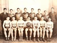 Easton High School Basketball Team, 1942 - 1943