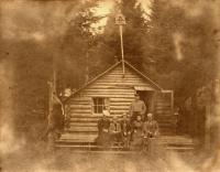 Aroostook Woods Cottage, Houlton, ca. 1900