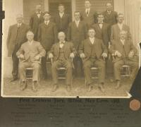 First Traverse Jury, Alfred, 1911