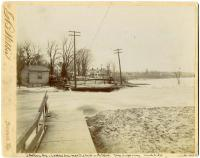 Great Freshet, Topsham, 1896