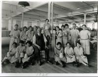 Winding room employees, Cabot Mill, Brunswick, 1925