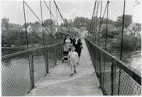 Swing Bridge, Brunswick-Topsham, 1936