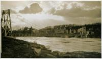 Swing Bridge, Brunswick-Topsham, ca. 1920