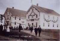 Hermon Independent Order of Odd Fellows Hall, 1914