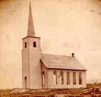 New Sweden Lutheran Church, 1880