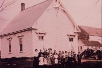 Hermon School Number 5, Hermon, ca. 1910