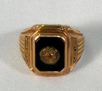 Ricker Classical Institute class ring, Houlton, 1949