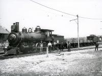 A Train at Springvale Depot, Sanford, Circa 1910