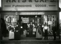 Charles B. Allbee Clothing Store, Sanford, ca. 1890