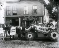 Theoret's Millinery parade float, Sanford, 1903