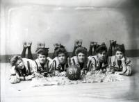 Sanford Mills Girls' Basketball Team, 1904