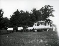 Goodall Worsted Co. Parade Float, ca. 1905