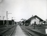 Sanford-Springvale Railroad Station, before 1908
