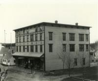 The Fogg Block, Bridge Street, Springvale, ca. 1911