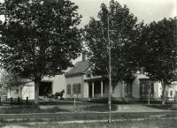 Home of Dr. Fred Bragdon, Springvale, ca. 1900