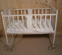 Baby crib, Mapleton, ca. 1920