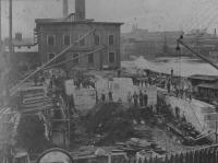 Saco-Pettee Boiler House Construction, Biddeford, 1911