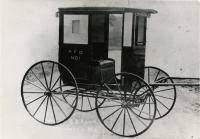 Elmer E. Rowe carriage, ca. 1900