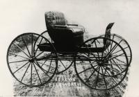Elmer E. Rowe carriage, Ellsworth, ca. 1900