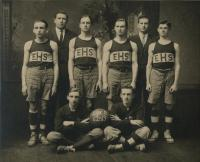 Ellsworth High School Basketball Team, 1912-13