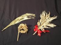 Palm weavings, Saint Agatha, ca. 1980