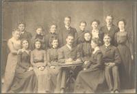 E.S.N.S. 'Echo' staff, Castine, 1900
